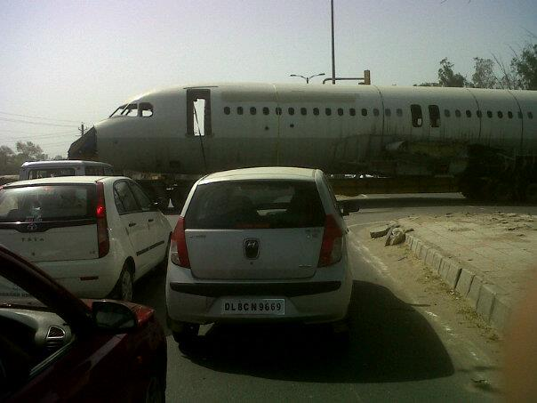 Plane on the road.jpg